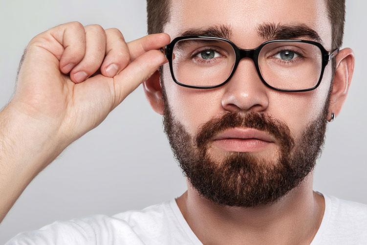 man high definition lenses